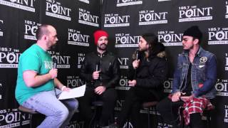 30 Seconds to Mars discuss Artifact, Jared Leto's acting award nominations, & more