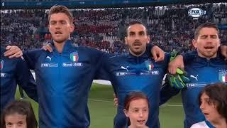 Italy vs Netherland National Anthem (International Friendlies)