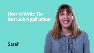 How to write the best job application