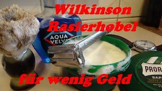 Mein neuer Wikinson Rasierhobel für 5 Euro