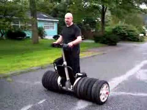 Segway Bigfoot Mod Adds Six Tires For Steamrolling Lesser Geeks