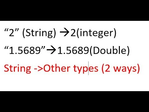 String to Integer || String to double in uipath tutorials