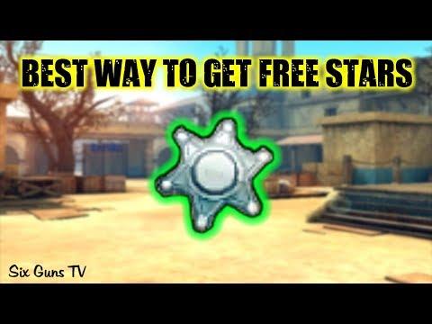Six Guns - Best way to get FREE STARS!