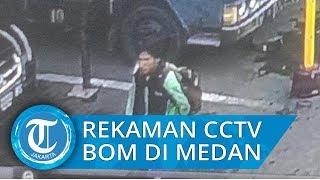 Bom Bunuh Diri di Mapolrestabes Medan, Wajah Pelaku Terekam CCTV
