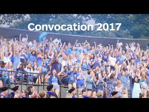 Mount Holyoke Convocation 2017 – Recap Video