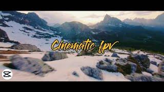 Cinematic FPV Filter   Professional Cinematic Colour Grading Mobile   Capcut Editing Tutorial