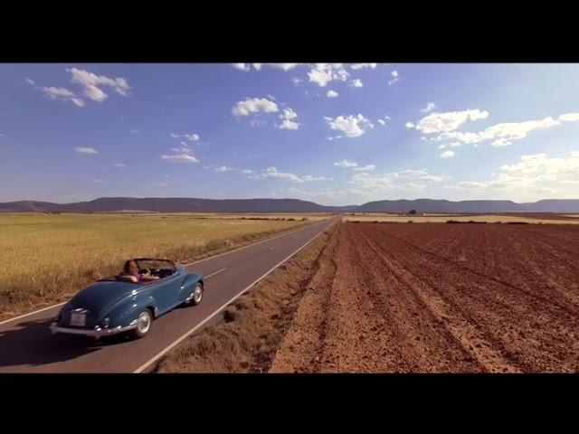 Peugeot 203 Cabriolet y El Pueblo más bonito de Castilla-La Mancha