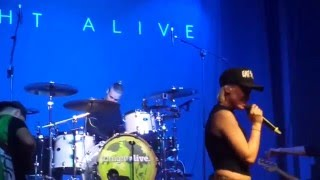 Tonight Alive - Drive (Live in Milano @05.02.2016)