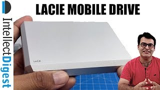 LaCie Mobile Drive 4TB Unboxing And Hands On Review With Speed Test