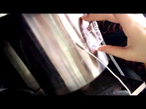 Video soft serve ice cream machine precooling  system temperature
