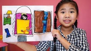 Bé Bún Làm Giường Ngủ Cho Bạn Gái Bằng Giấy Thủ Công | DIY Paper Crafts