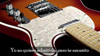 Miss you hate you -Joe Bonamassa- Letra en español.