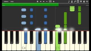 Enrique Iglesias - El Perdon Tutorial Synthesia