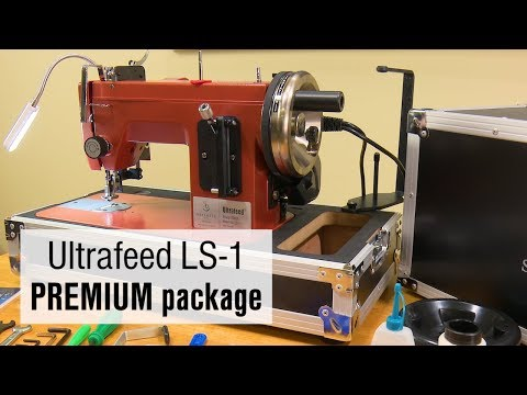 Sailrite Ultrafeed LS40 PREMIUM 40400V Walking Foot Sewing Machine Extraordinary Sailrite Ultrafeed Lsz 1 Plus Walking Foot Sewing Machine