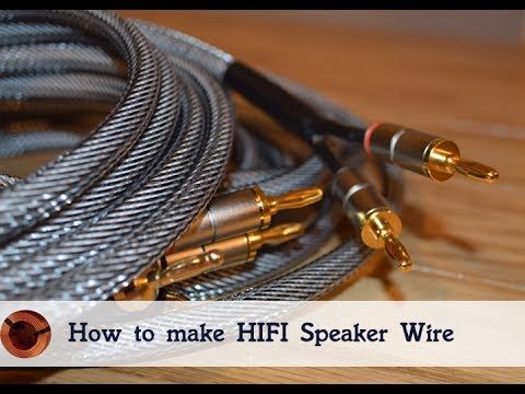 How to make Your own HiFi Speaker Wire