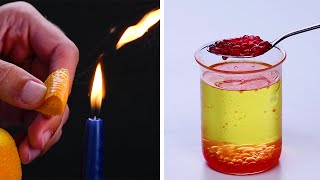 12 Easy Science Tricks To Impress Your Friends!!! Blossom