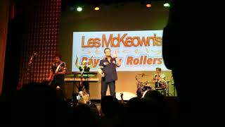 Keep on dancing 😎 Les McKeown 's legendary Bay City Rollers 💗31 October 2018