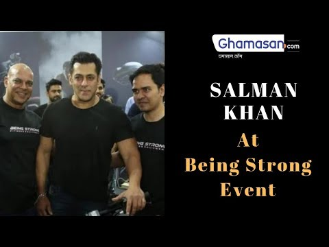 The Dabangg of Bollywood Salman Khan's Shows Unbelievable Fitness Workout Being Strong BHARAT Movie
