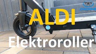 Aldi Elektroroller Test: Reichweite, Fahrverhalten, Bremsen, Licht