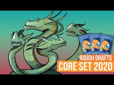 Rough Drafts: Core Set 2020 (Limited, Magic Arena)