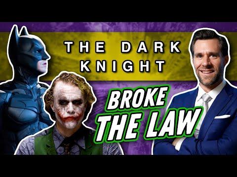 Laws Broken: Dark Knight (Can Batman Use Self Defense? How Many People Did the Joker Kill?)
