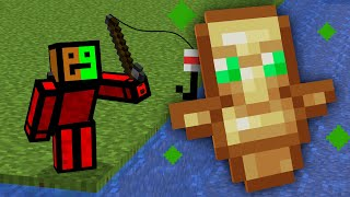 Minecraft, But Fishing Drops OP Items...