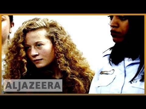 🇵🇸 Video shows Ahed Tamimi interrogation in Israeli detention centre | Al Jazeera English