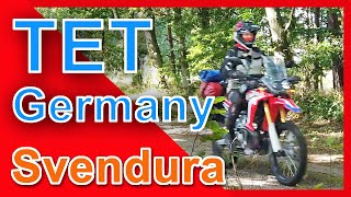 Trans Euro Trail   TET Deutschland Ost   4K