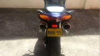 VFR 800 '02 Delkevic Exhaust