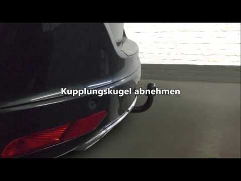 Volvo XC60 06.12-06.17 AUTO HAK Anhängerkupplung abnehmbar 13polig E-Satz KIT