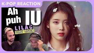 IU (아이유) - Ah puh (어푸) Audio REACTION   Lilac First Listen