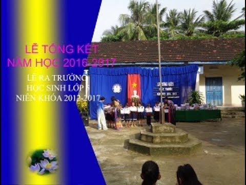 Lễ Tổng kết năm học 2016-2017