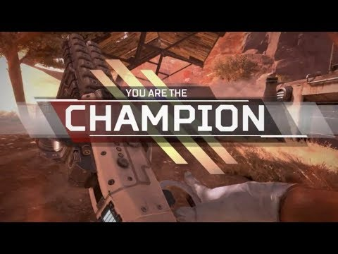 We are the Champions. - Apex Legends Gameplay (w/RickyFTW, FarleyPlays)