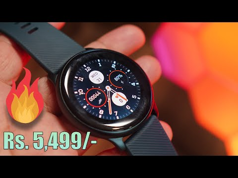 NoiseFit Evolve Smartwatch with AMOLED touch screen for Rs. 5,499, Awesome looks!