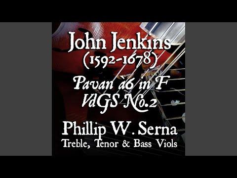 Phillip Serna's Recording of the Pavan à6 in F, VdGS No.2 (ca.1667) by John Jenkins (1592-1678)