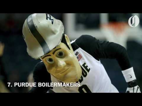 NCAA Tournament Sweet 16 mascots, ranked