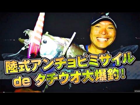 陸式アンチョビミサイルdeタチウオ大爆釣-前編