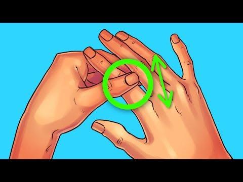 Reibe deinen Zeigefinger 60 Sekunden lang und pass auf, was mit dir geschieht