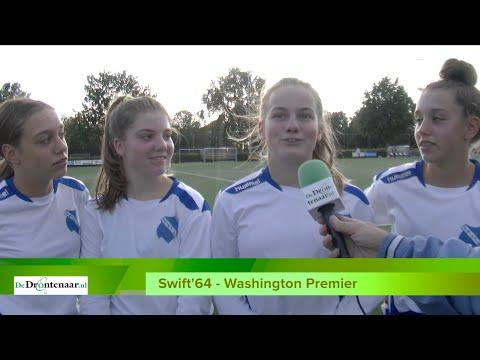 """VIDEO   Gemixt team Swift'64 geen partij voor Amerikanen: """"Het is alsnog leuk"""" - DeDrontenaar.nl"""