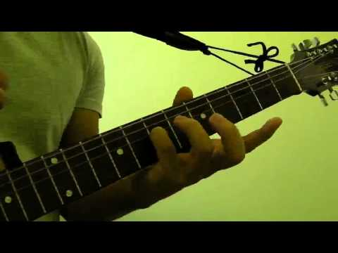 How to Play  Am (A Minor) Guitar Bar Chord