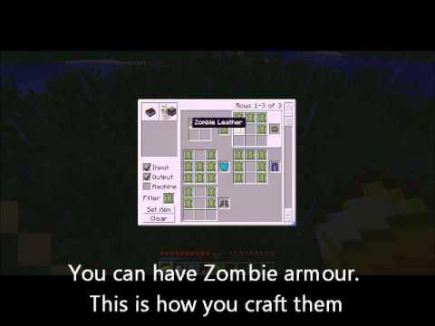 Minecraft - Bear Grylls mod - EAT ALL THE THINGS!