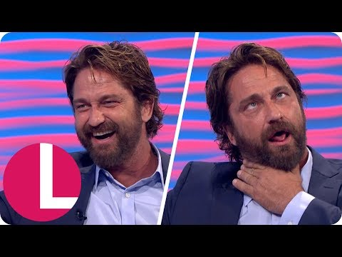Gerard Butler Ended Up in Hospital After Injecting Bee Venom | Lorraine