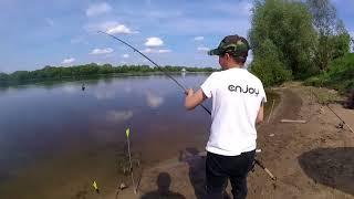 Рыбалка на реке ока в белоомуте