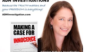 Interview With A Defense Investigator