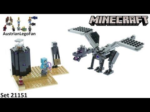 Vidéo LEGO Minecraft 21151 : La bataille de l'End