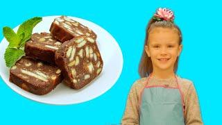 Простые рецепты с Китти: Шоколодная колбаска | Волшебница Китти