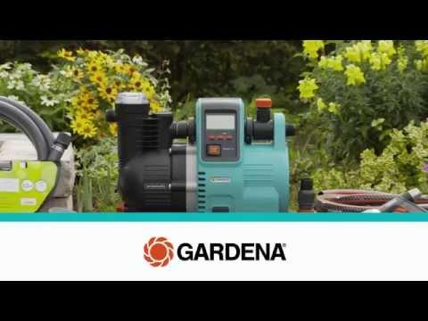 GARDENA Inbetriebnahme Hauswasserautomaten