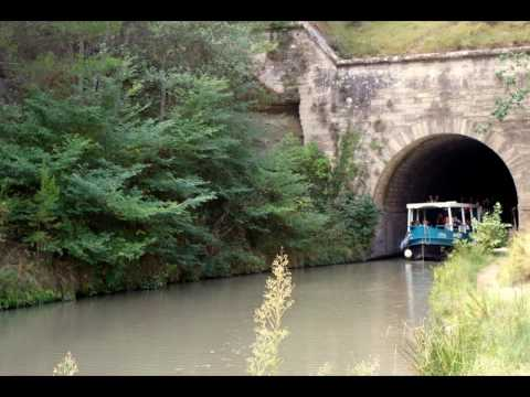 Malpas Tunnel sur le Canal du Midi