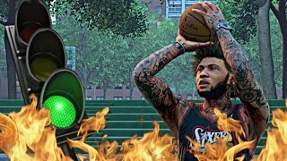 NBA 2k16 MyPark - MR. GREEN LIGHT SPECIAL RETURNS! GREEN LIGHT 3's FALLING LIKE CRAZY! Feat. YRNDJ