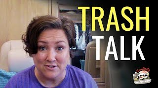 TRASH TALK! How To Minimize And Manage Trash In A Small RV Or Van Space